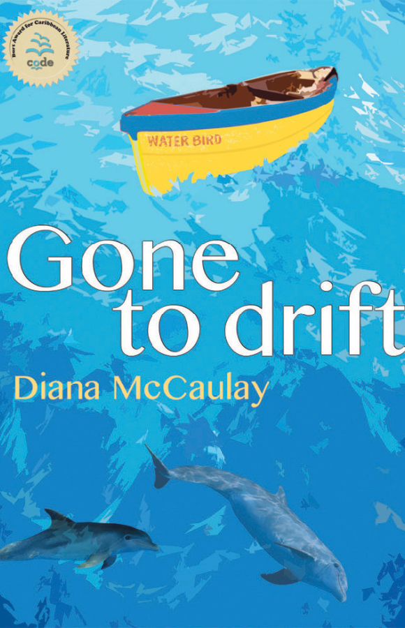 Book cover for Gone to Drift, Papillote Press, Dominica
