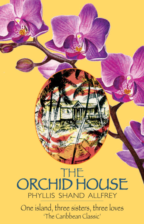 Book cover for The Orchid House, Papillote Press, Dominica