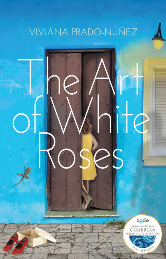 Book cover for The art of white roses, Papillote Press