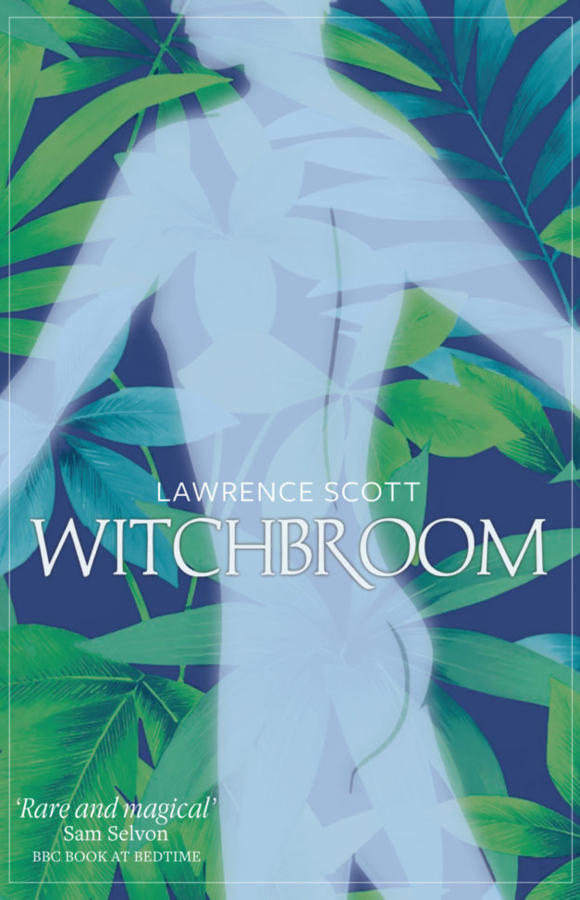 Book cover for Witchbroom, Papillote Press, Dominica